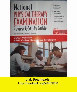 national physical therapy examination review and study guide 2018
