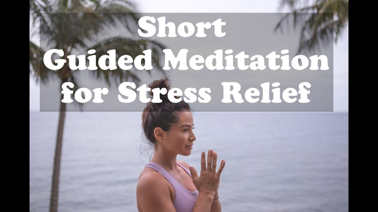 15 minute guided meditation for stress