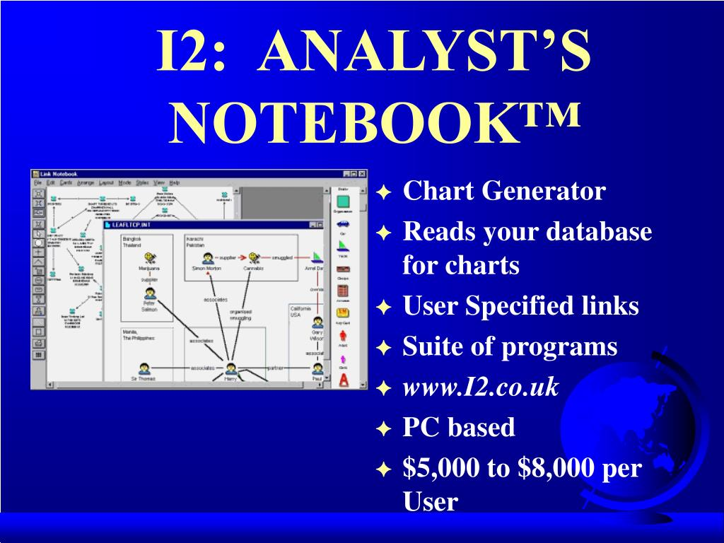 i2 analyst notebook user guide
