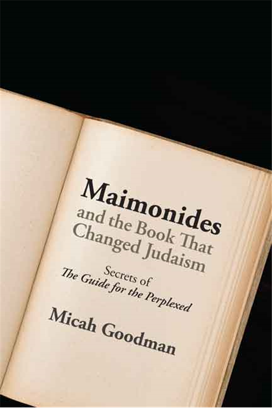 moses maimonides guide for the perplexed
