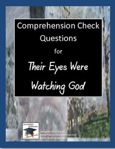 their eyes were watching god study guide teacher copy