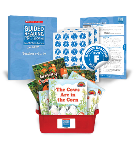 guided reading level f books