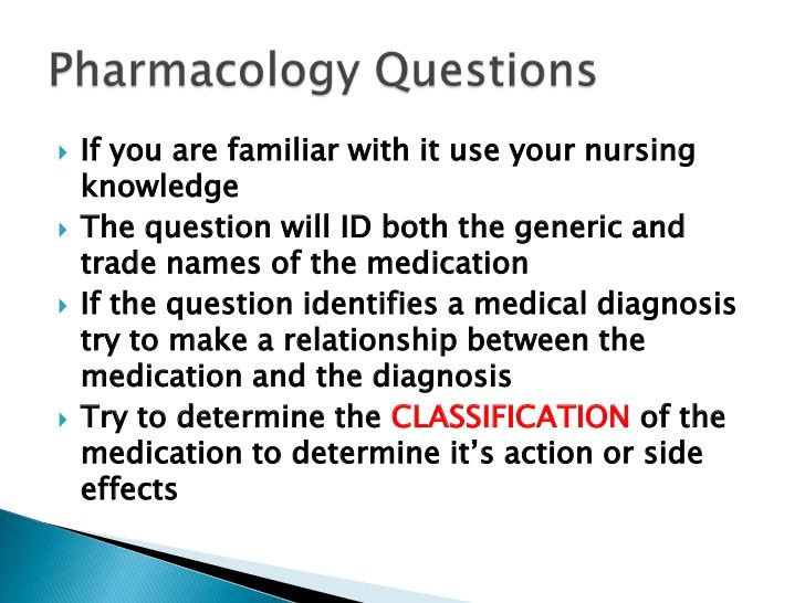 pharmacology study guide for nursing students