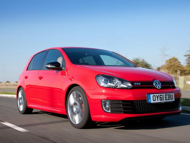 used vw golf price guide
